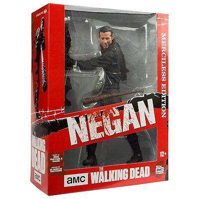 Mcfarlane Toys Amc Walking Dead Negan Merciless Edition 10  Deluxe Figure