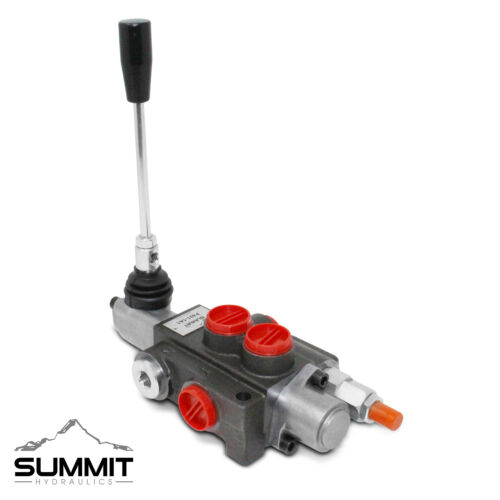 1 Spool Hydraulic Directional Control Valve, Double Acting, 11 GPM, SAE Ports