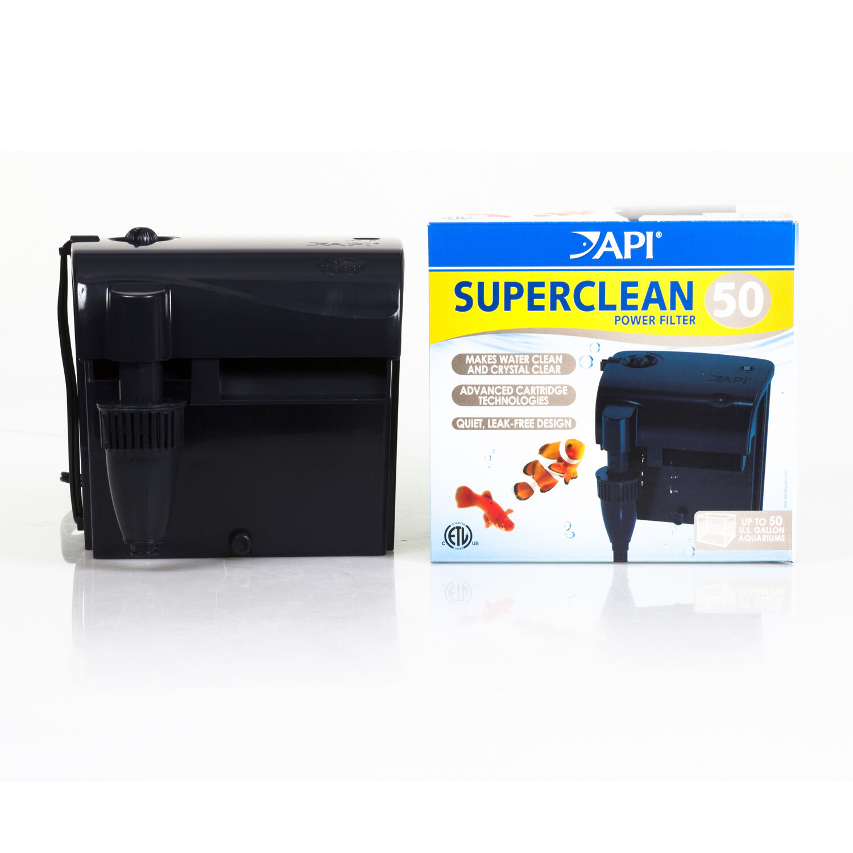 api superclean 50 hob power