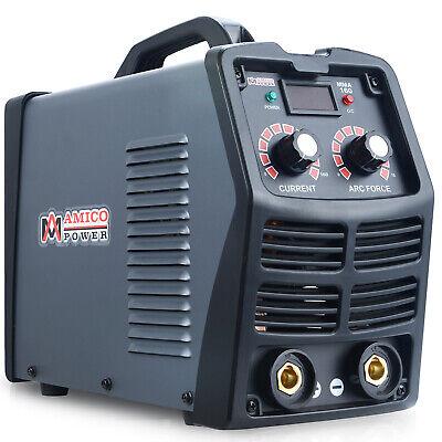 Mma-160 160 Amp Stick Arc Inverter Dc Welder 110v 230v Dual Voltage Welding