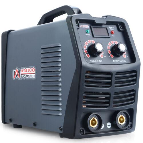 MMA-160, 160 Amp Stick Arc Inverter DC Welder, 110V & 230V Dual Voltage Welding
