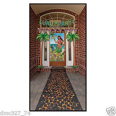 LUAU Tiki Tropical Party Decoration Prop HOT COALS Firewalking Floor - Tiki Party