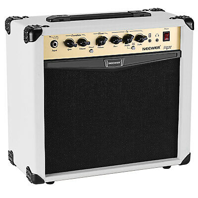 Neewer 20-Watt Electric Guitar Combo Amplifier with 3-Band EQ 2 Channels