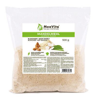 MeaVita Mandelmehl, naturbelassen, blanchiert, 500g-MHD 03-2021, B-Ware