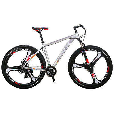 """29"""" Mountain Bike Shimano 21 Speed Mens Disc Brakes Bicycle 29er XL Aluminium"""
