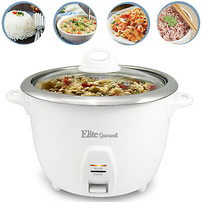 10 Cups Electrifying Rice Cooker And Food Steamer Warmer Stainless Steel Pot Inner