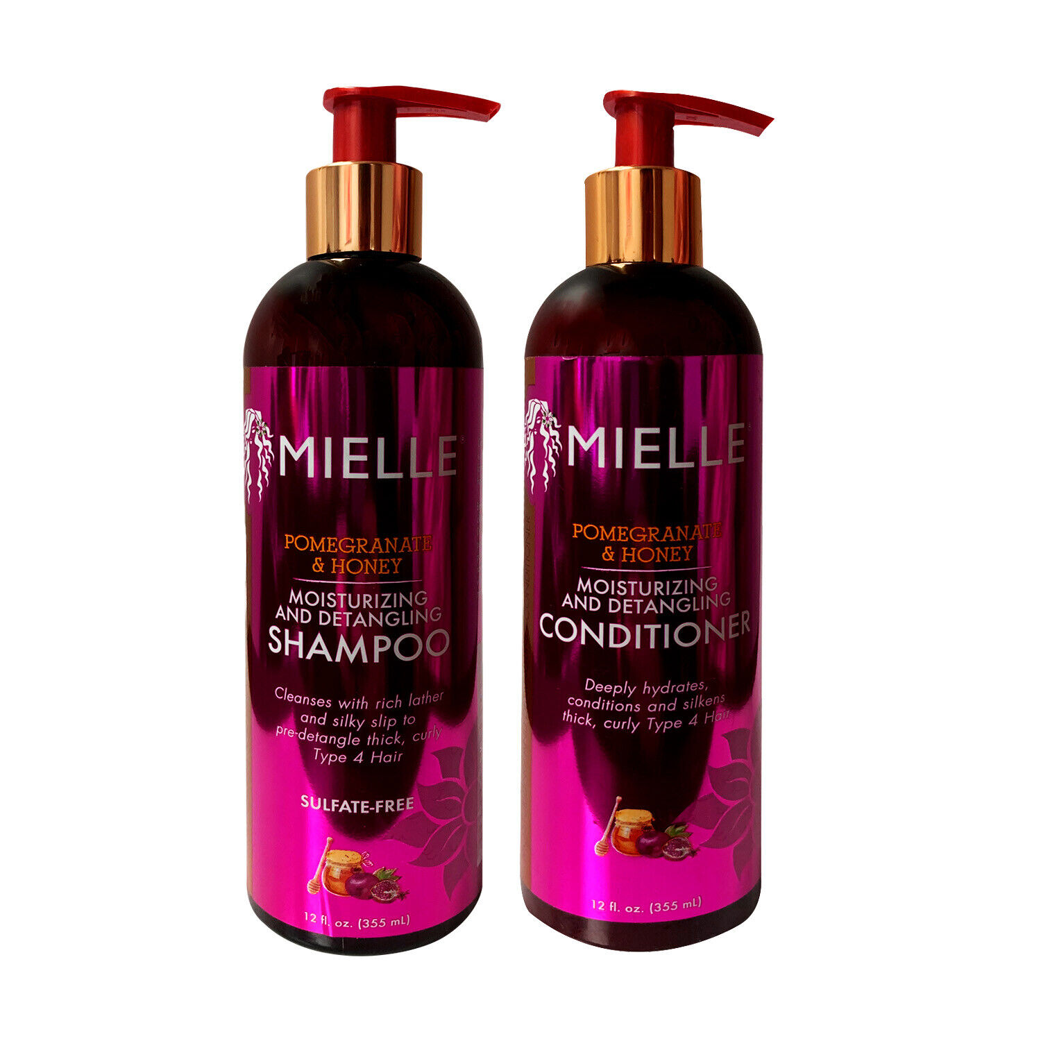 Mielle Organics Pomegranate & Honey Shampoo and Conditioner set (FREE SHIPPING) Hair Care & Styling