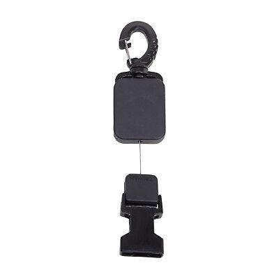 (Trident Clip On Mini Retractor with Female Quick Release Attachment )