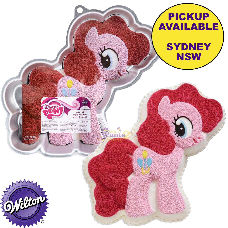 Stupendous My Little Pony Pinkie Pie Party Supplies Birthday Cake Pan Wilton Funny Birthday Cards Online Kookostrdamsfinfo