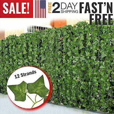 Fake Ivy Leaves (Fake Ivy Artificial Leaves Hanging Plant Flower Vine Leaf Vine Garland Faux)
