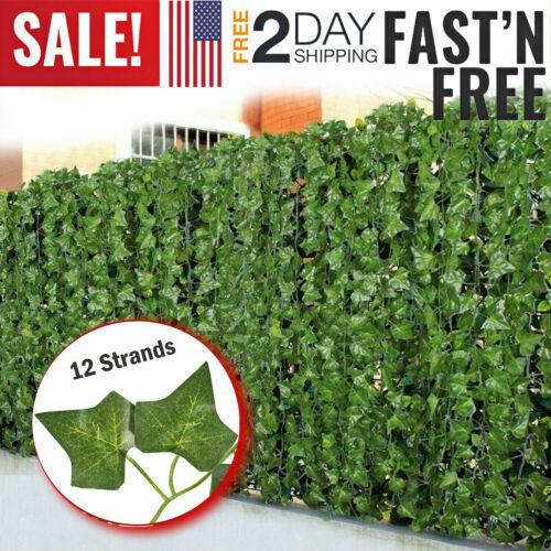 Fake Ivy Artificial Leaves Hanging Plant Flower Vine Leaf Vine Garland Faux Silk