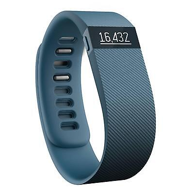 NEW Fitbit Charge Wireless Activity Tracker Wristband Small Slate Gray FB404SLS