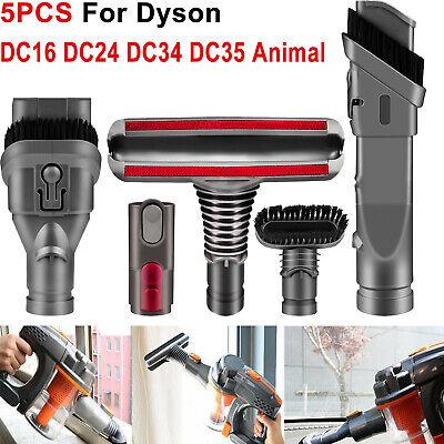 5pcs For Dyson DC24 DC35 DC44 DC58 DC59 DC62 DC74 V6 Attachment Tools Brush Kit