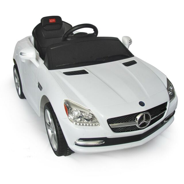 Mercedes Benz Slk Kids Electric Ride On Toy Car W Parent Remote
