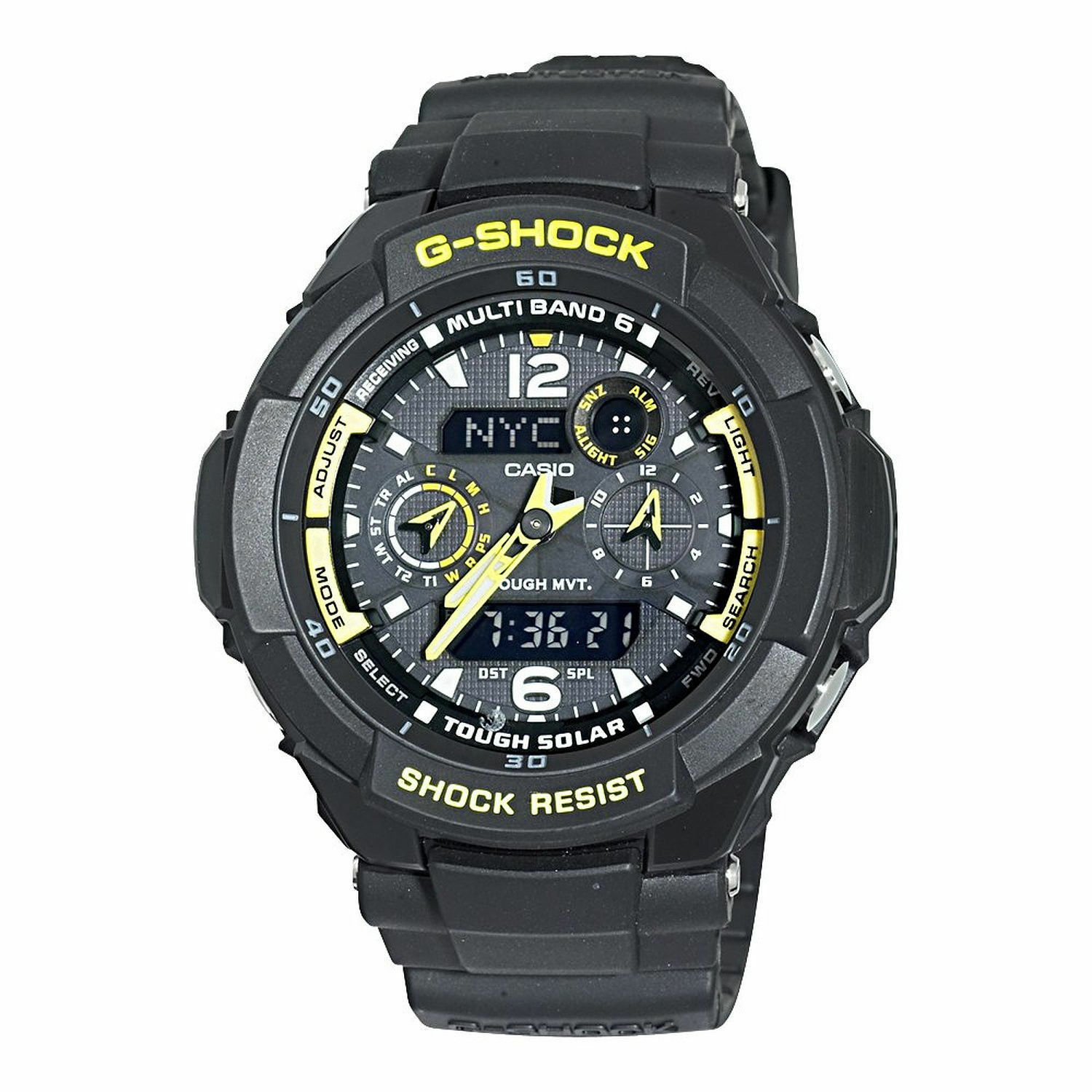 gshock how to change time