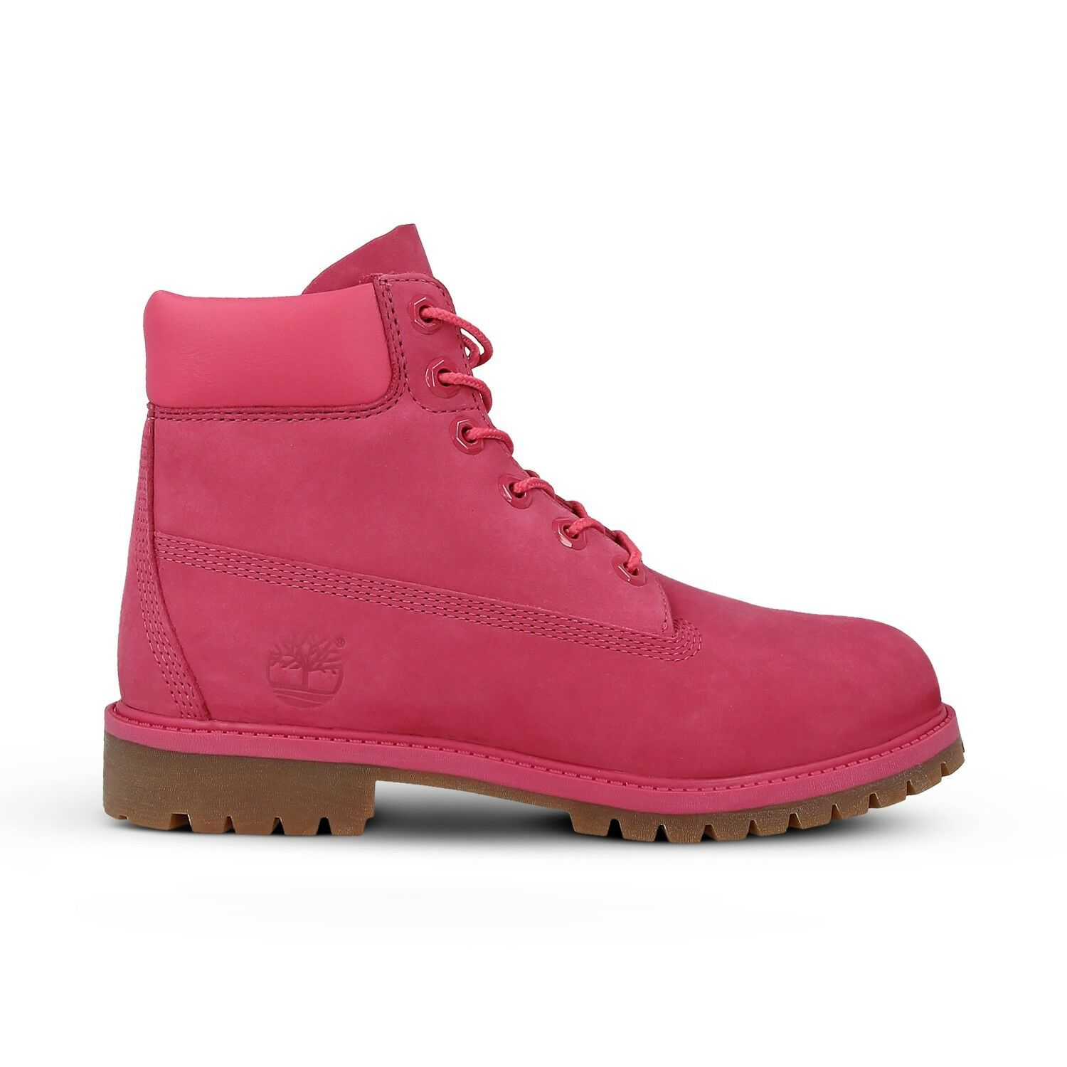 "Timberland Toddler's 6"" Premium Boots NEW AUTHENTIC Pink Red/Rose A1ODPH62"