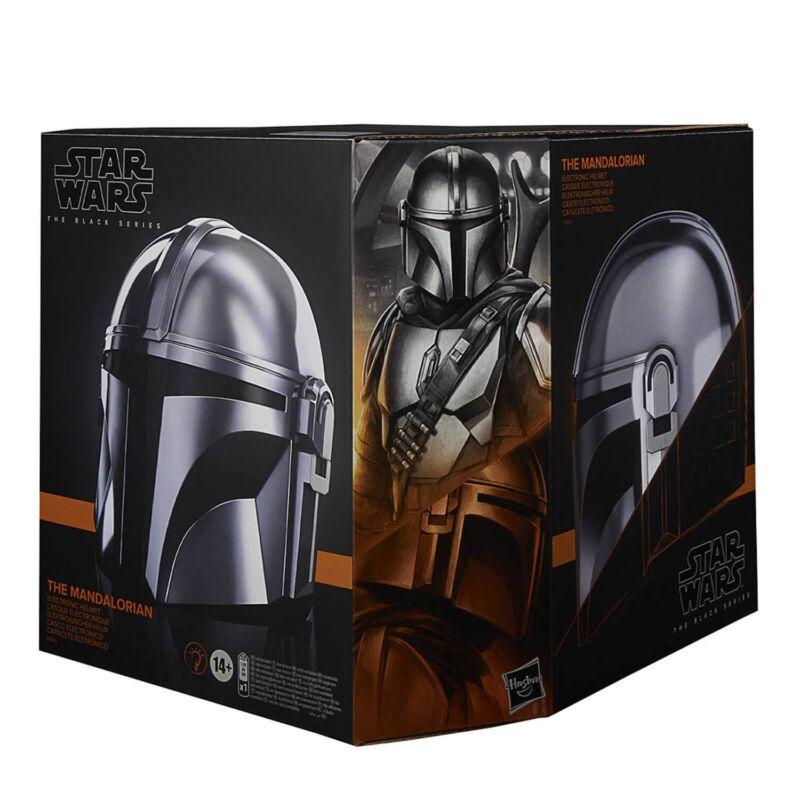 Star Wars Black Series The Mandalorian Premium Electronic Helmet* BRAND NEW*