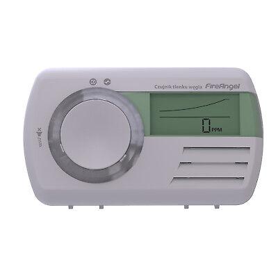 Gasdetektor Gaswarner Melder Gas Detektor Kohlenmonoxid Frühwarnsystem weiß CO9D