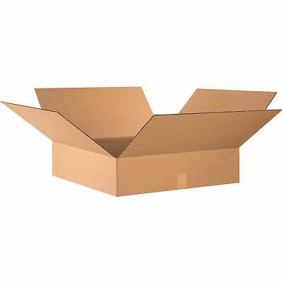 24 X 24 X 6 Flat Cardboard Corrugated Boxes 65 Lbs Capacity 200ect-32
