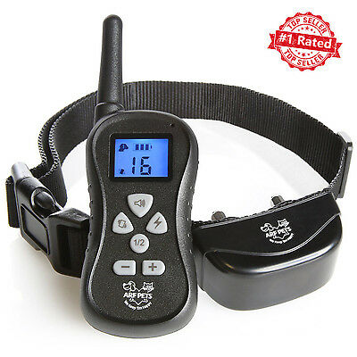 Dog Training Collar with Remote Bark Control Waterproof Shock + Beep + Vibration