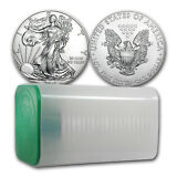 2018 1 oz Silver American Eagle Coin BU (Lot of 20) - SKU #159801