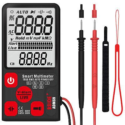 Bside Adms9cl Mini Digital Multimeter Tester Voltmeter Ohm Resistance Test Us