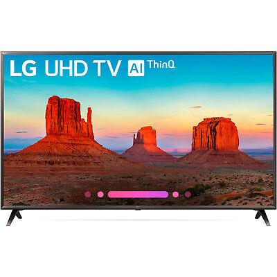 """LG 65UK6300 65"""" UK6300 Class 4K HDR Smart LED AI UHD TV w/Th"""