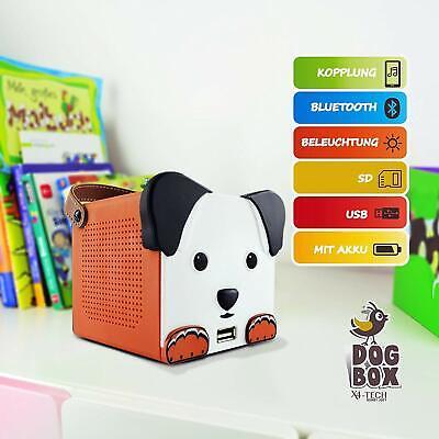 X4-TECH Bobby Joey DogBox DOGBOX Dog Box Accu USB Bluetooth SD-Karte