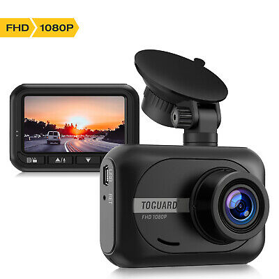 TOGUARD Mini Dash Cam 1080P Full HD Car Camera DVR Recorder 170° Parking Monitor