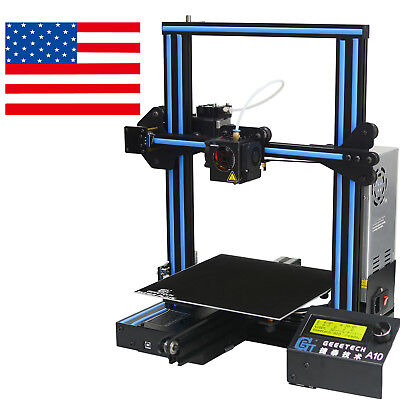3D Printer Geeetech A10 Aluminum Fast Assembly Better Adhesion Newest