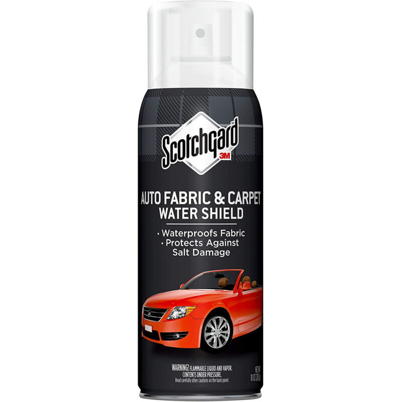 3M Scotchgard Cleaners & Protectors: Auto Carpet Water Shield Protector, 10 ounc
