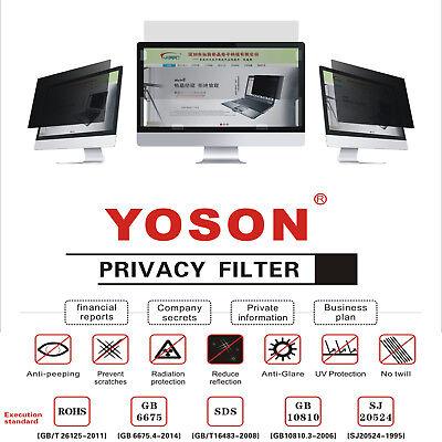 "34"" Privacy Filter Screen Protector for Widescreen Desktop Monitors 21:9 Ratio"