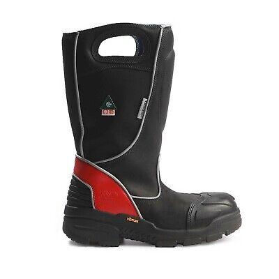 Fire-dex Boots Fdxl 100 Size 9.5 Wide Leather Fire Fighter Boots Fire Boots