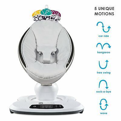 baby swing infant rocker bluetooth high tech smart 5 motions