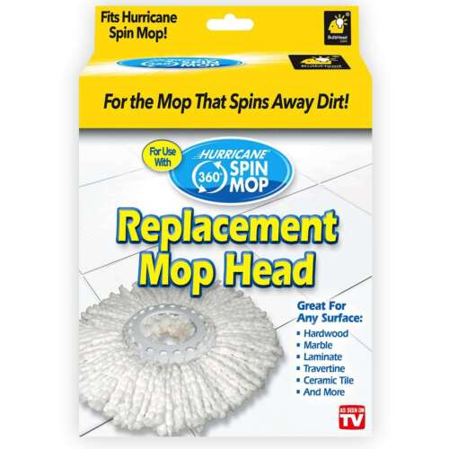 Hurricane Spin Mop Replacement Head