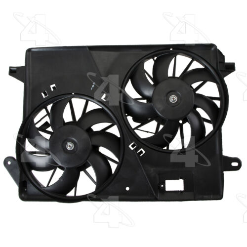 Cond Fan Assembly Left 4 Seasons Dual Radiator and Condenser Fan Assembly-Rad
