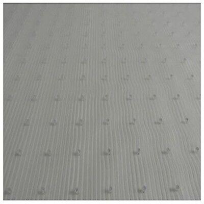 Plastic Floor Runners (Resilia - 12' Clear Vinyl Plastic Floor Runner/Protector for Low Pile Carpet)