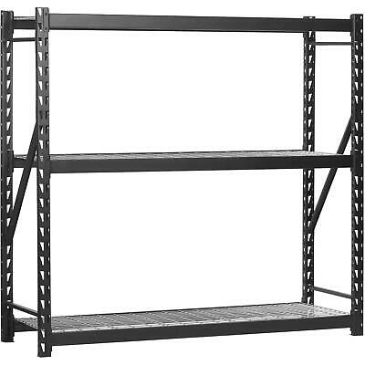 Steel Welded Storage Rack Heavy Duty Industrial Strength 77 W X 24 D X 72 H