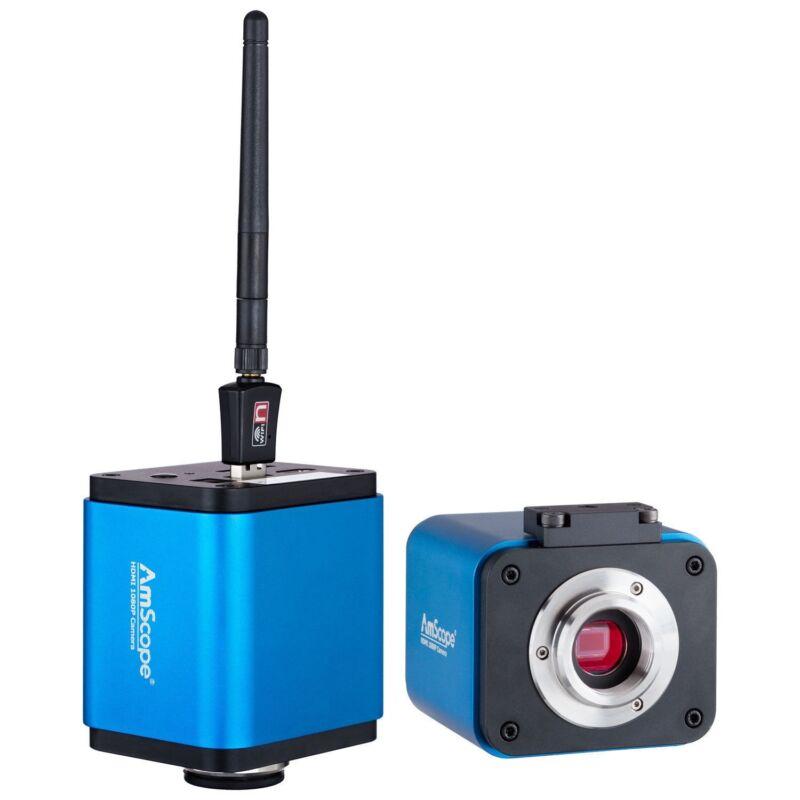 5MP 1080p HDMI WiFi Digital Microscope Camera for Standalone and PC Imaging