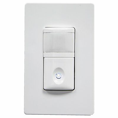 2-in-1 Enerlites Hmos-j Motion Sensor Switch For Home Security Led Lighting