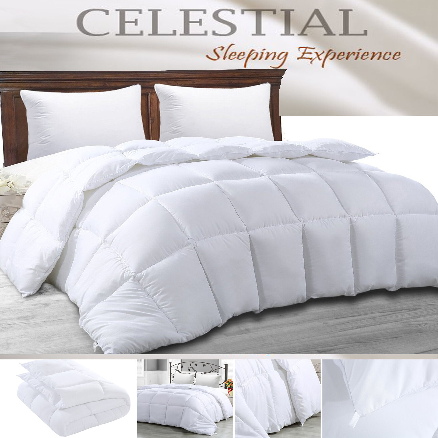 Comforter Soft Duvet Cover Insert Coverlets Quilted King/Que