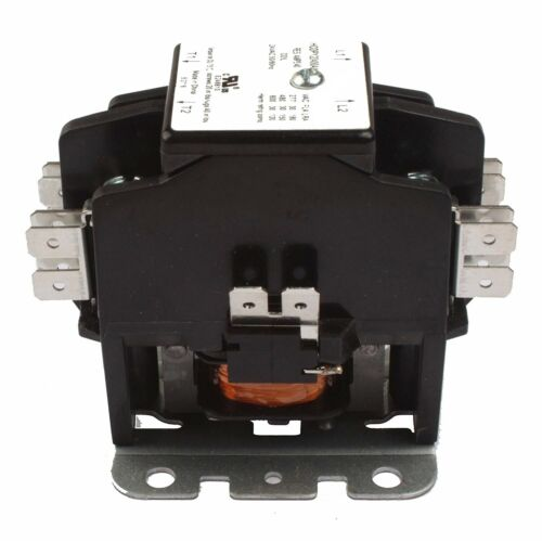 CARRIER TRANE Replacement Contactor 2 Pole 40 Amp 24V Coil HVAC 50A Motor 40A AC