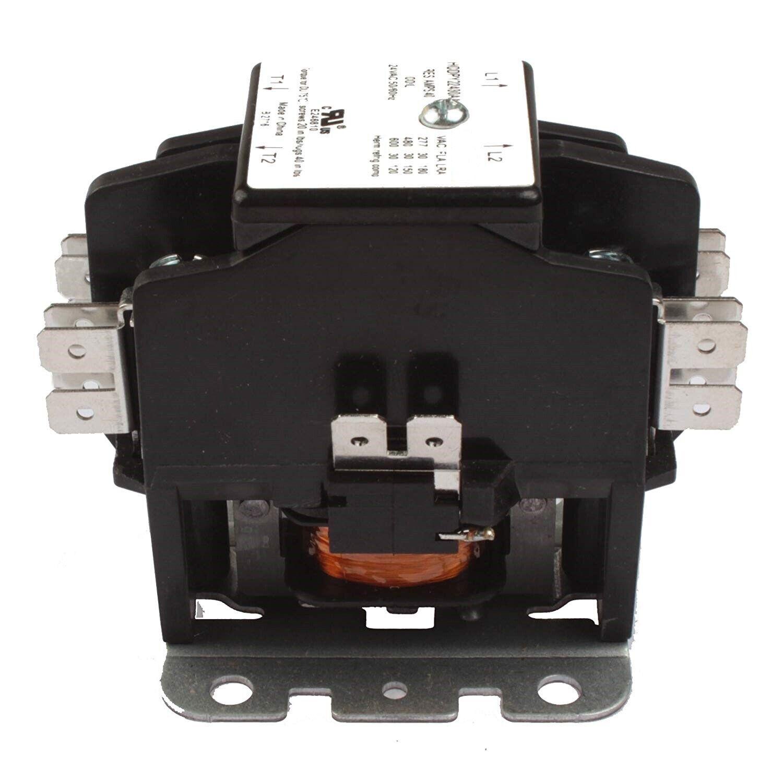 Contactor 1 Pole 40 Amp 24V Coil HVAC AC 50A 30A Air Conditi