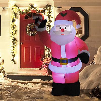8ft Inflatable Christmas Santa Claus Holiday Airblown Yard Outdoor - Inflatable Santa