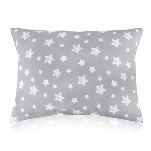 "Toddler Pillow for Sleeping Ultra Soft Star Kids Pillow for Sleeping 14""x19"""