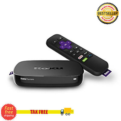 Roku Premier 4K Ultra HD Streaming TV Box Streaming Media Player Wi-Fi IR Remote
