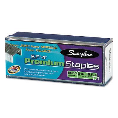 Swingline S.F. 4 Premium Chisel Point 210 Count Full-Strip Staples 5000/Box
