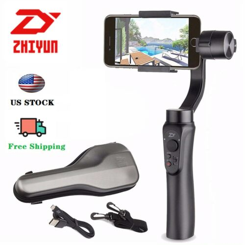 Zhiyun Smooth-Q Handheld Smartphone Gimbal Stalilizer for iPhone X XS XR VLOG