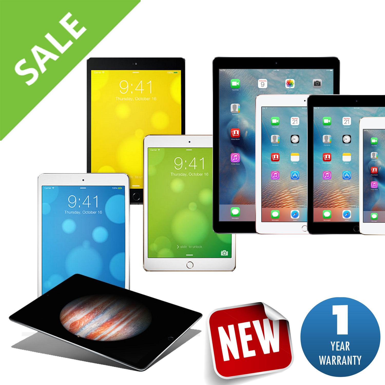 Promo - Apple iPad Air,mini,Pro, 2,3,4   16GB-32GB-64GB-128GB-256GB Wi-Fi Tablet