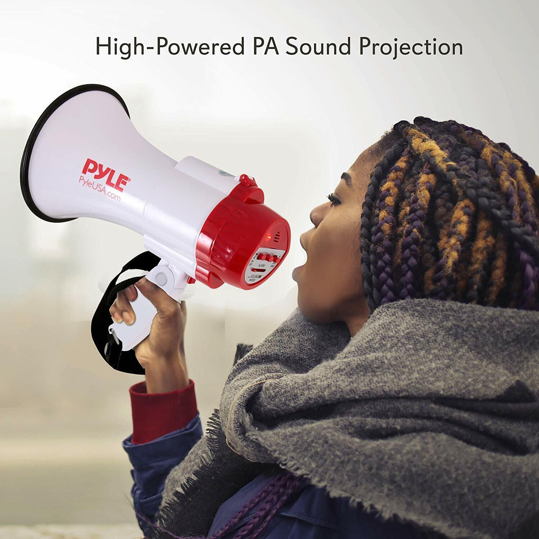 NEW! Pyle-Pro PMP30 Professional Megaphone/Bullhorn w/ Siren